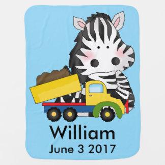 Williams personalisierter Zebra Puckdecke