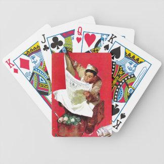 Willie Gillis auf K P Pokerkarten