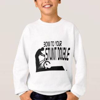 WillieBMX Bogen zu Ihrem Bremsungs-Doppelten Sweatshirt