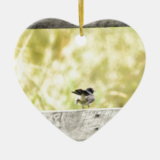 WILLIEWAGTAIL LÄNDLICHES QUEENSLAND AUSTRALIEN KERAMIK ORNAMENT