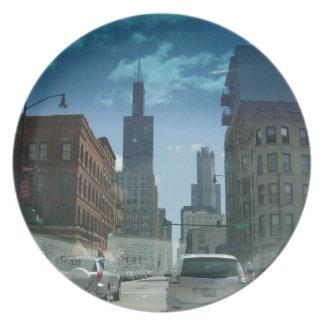 Willis Turm-Platte Teller