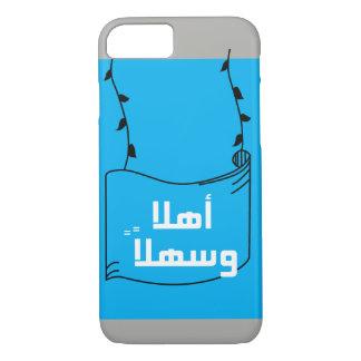 """""""Willkommen"""" im arabischen Fall iPhone 8/7 Hülle"""