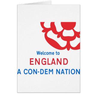 Willkommen nach England: Eine Nation Betrug-DM Karte