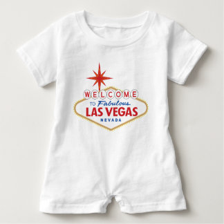Willkommen nach fabelhaftes Las Vegas, Nevada Baby Strampler