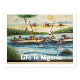 Willkommen nach Nigeria Postkarte