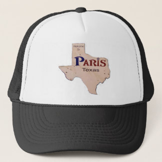 Willkommen nach Paris, Texas Truckerkappe