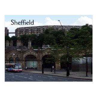 Willkommen nach Sheffield Postkarte