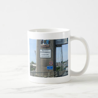 Willkommen zu Cornwall - Kernow a'gas Dynergh Kaffeetasse