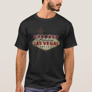 Willkommen zu fabelhaftem T - Shirt Las Vegas