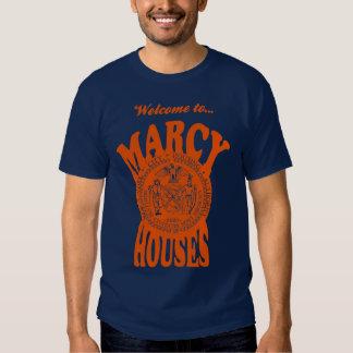 Willkommen zu Marcy bringt T - Shirt unter