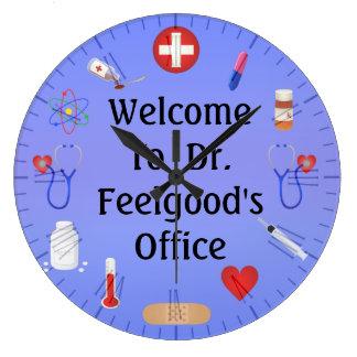 Willkommen zu Office Customizable Clock Doktors Wanduhren