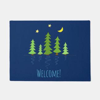 Willkommen zu unserem Kabinen-Zuhause mit Trees Türmatte