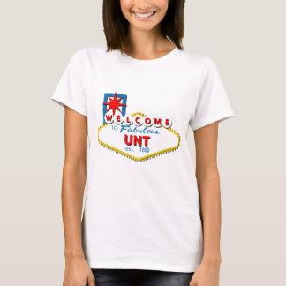Willkommen zu UNT T-Shirt