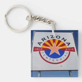 Willkommen zu Utah- und Arizonaschlüsselkette Schlüsselanhänger