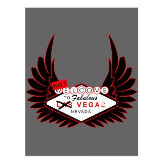 Willkommen zu Vega Postkarte