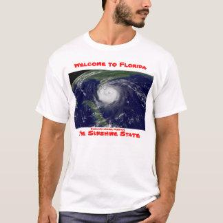 Willkommen zum Florida-Hurrikan-Shirt T-Shirt