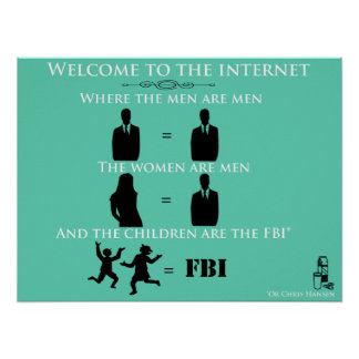 Willkommen zum Internet Poster