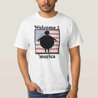 Willkommen 'zum murica t-shirt