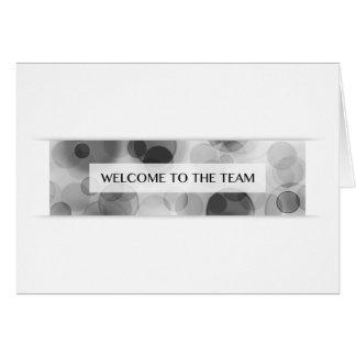 Willkommen zum Team (bokeh) Karte