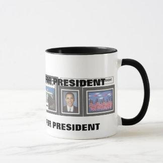Willkommen zur das Haus-Barack Obama Tasse