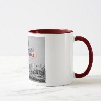 Willkommen zur fabelhaften Las- Vegaswecker-Tasse Tasse