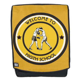 Willkommen zur Highschool Rucksack