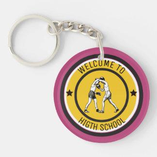 Willkommen zur Highschool Schlüsselanhänger