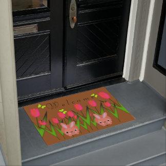 Willkommene Fußmatte Türmatte