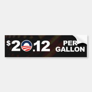 Willkommene hohe Gaspreise Autoaufkleber