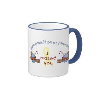 Willkommene Zuhause-Mama (ich verfehlte Sie) Kaffeehaferl