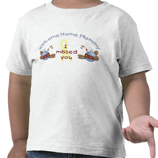 Willkommene Zuhause-Mama (ich verfehlte Sie) T-Shirts