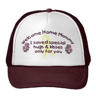 Willkommene Zuhause-Mama Retrokultmützen