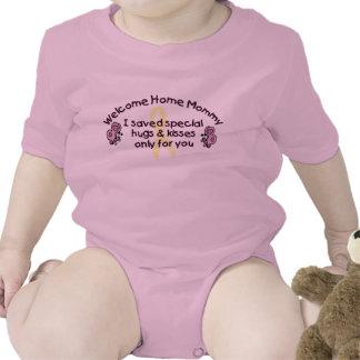 Willkommene Zuhause-Mama Shirt