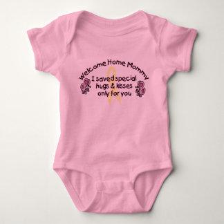 Willkommene Zuhause-Mama T Shirt