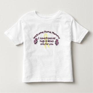 Willkommene Zuhause-Mama Tshirt