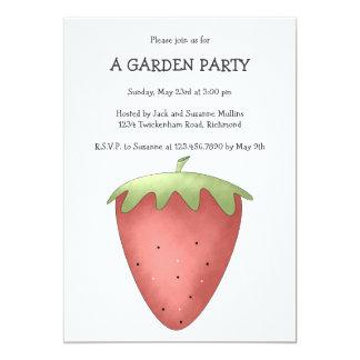 Willkommener Frühling · Erdbeere 12,7 X 17,8 Cm Einladungskarte