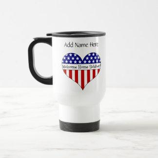 Willkommener Zuhause-Soldat! Teetasse