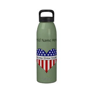 Willkommener Zuhause-Soldat! Trinkflasche