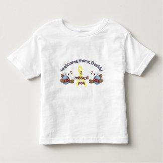 Willkommener Zuhause-Vati (ich verfehlte Sie) T-Shirts