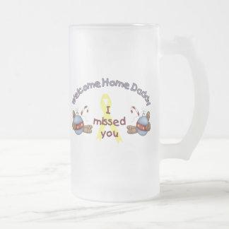 Willkommener Zuhause-Vati (ich verfehlte Sie) Kaffeetassen