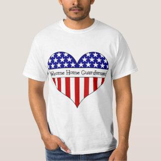 Willkommener Zuhause-Wachposten! T-Shirts