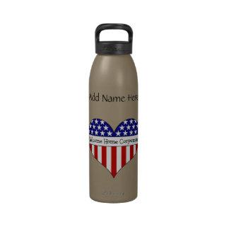 Willkommener ZuhauseCorpsman! (Kundengerechter Nam Wiederverwendbare Wasserflaschen