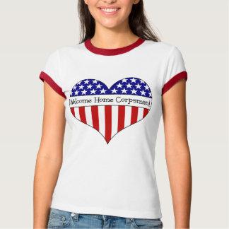 Willkommener ZuhauseCorpsman! T-shirt