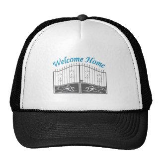 Willkommenes Zuhause Baseball Kappe