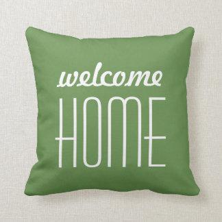 Willkommenes Zuhause Kissen