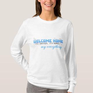 Willkommenes Zuhause - mein Flieger, mein Held T-Shirt