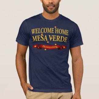 Willkommenes Zuhause-MESA Verde T-Shirt