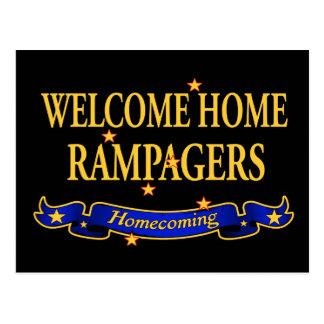 Willkommenes Zuhause Rampagers Postkarten