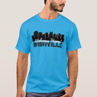 Willkommenes Zuhause-Shirt Nashvilles T-Shirt