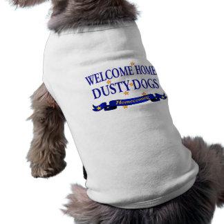 Willkommenes Zuhause-staubige Hunde Top